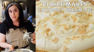 Coconut Cream Pie with Four Kinds of Coconut | From the Test Kitchen | Bon Appetit