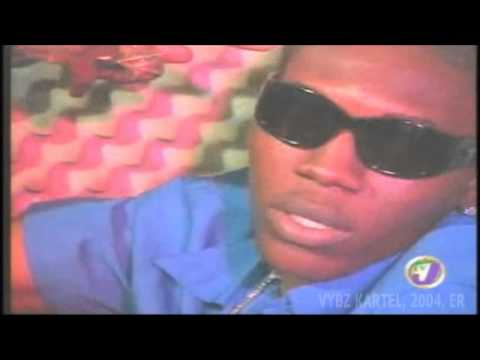 Vybz Kartel Interview On TvJ ER Entertainment Report 2004 [Worl'Boss]