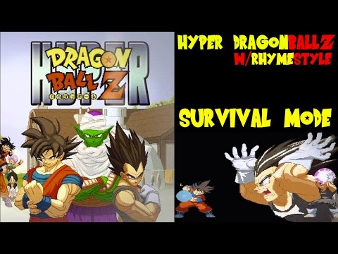 Hyper Dragon Ball Z Evo 2014 - Super Saiyan Goku Survival Mode & Invincible Vegeta video