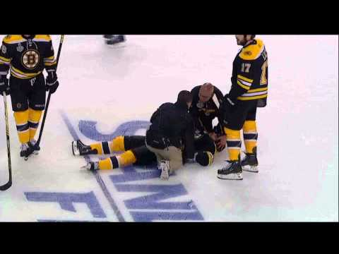 Aaron Rome Hits Nathan Horton - Canucks @ Bruins 2011 Stanley Cup Finals Game 3 [HD]