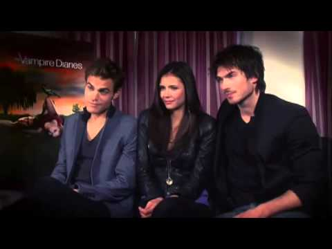 Paul Wesley | Funny Moments