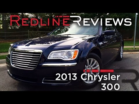 2013 Chrysler 300 Review. Walkaround. Exhaust. & Test Drive