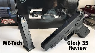 WE-Tech G35 Glock Replica Review! Semi-Full Auto Edition!