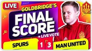 GOLDBRIDGE! Tottenham Hotspur 1-3 Manchester United Match Reaction