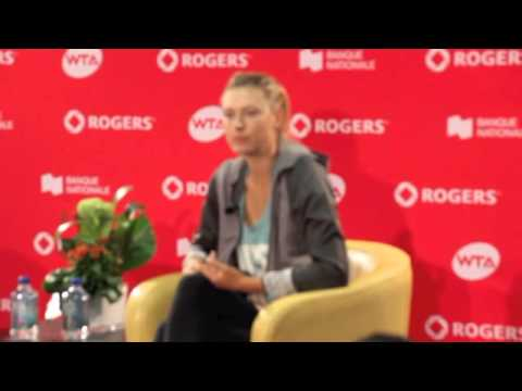 Maria Sharapova out of Rogers Cup