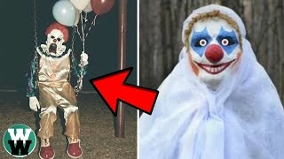 13 Scariest REAL Killer Clown Stories!