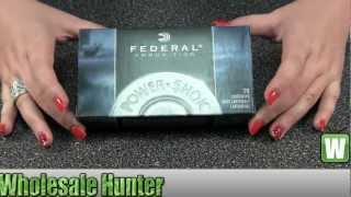 Federal Cartridge 6mm Remington 100Gr 6B Power Shok Soft Point Ammo Shooting Unboxing