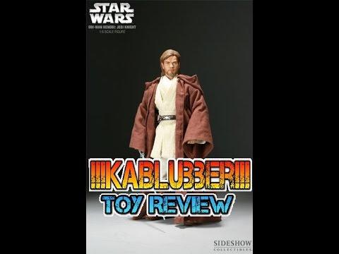 Sideshow Collectible Star Wars ''Obi Wan Kenobi'' Review [HD] [Deutsch]