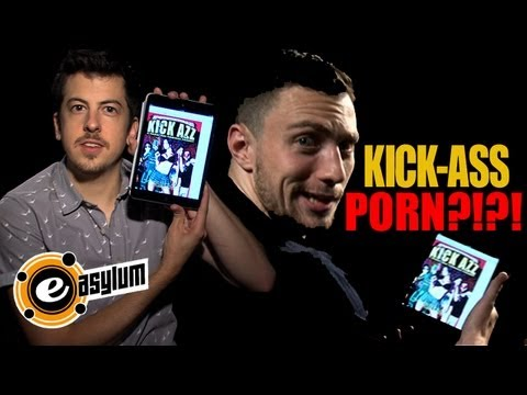 KICK-ASS 2 STAR & 'McLOVIN' Discover 'KICK-ASS' PORN PARODY (UNCENSORED)