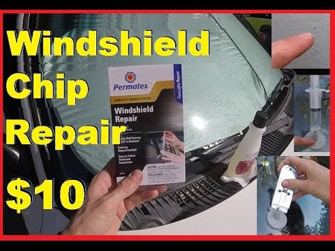 How To FIX a Windshield Chip or Crack & look NEW Again! -Jonny DIY