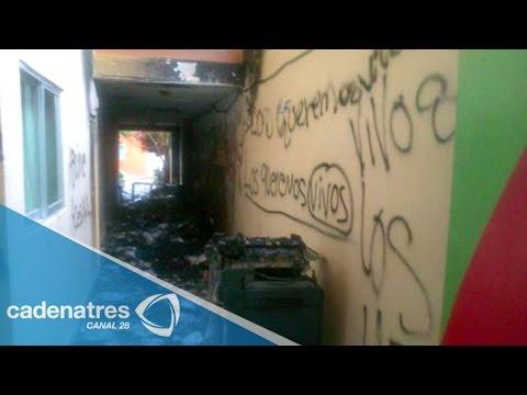 Incendian en Chilpancingo las oficinas de 'Guerrero Cumple'