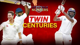 Sri Lankans with Twin Centuries in First Class Cricket | Let's Talk Numbers