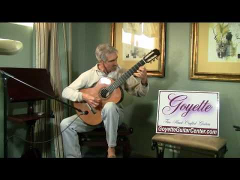 Model 200 Demo, Fantasie No. 10 by Alonso Mudarra, Classical Guitar