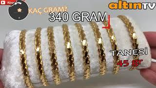 22 AYAR ADANA BURMA BİLEZİK MODELLERİ ÖZELLİKLERİ FİYATI 22K GOLD BARACELET MODELS