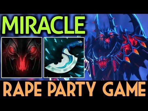 Miracle- Dota 2 [Shadow Fiend] Top 2 Rank EU | Rape Party Game
