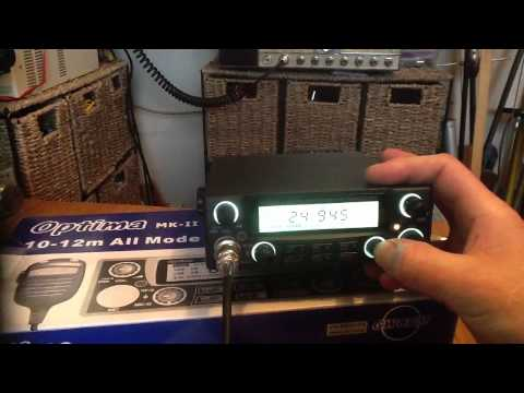 Optima 10-12m AM/FM/SSB HAM TRANCEIVER