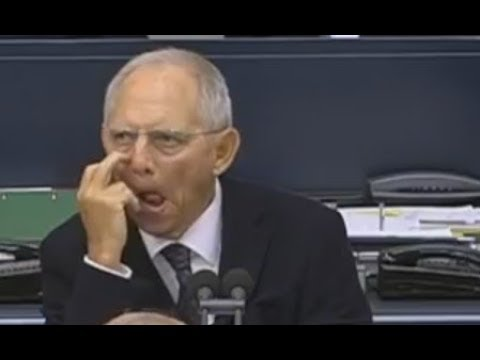 """Bundestag """" Dieses Gesundheitssystem HAT FERTIG """"  Prof Dr Axel Gehrke AfD Schäuble"""