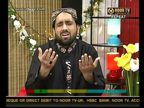 Punjabi Kalam(maan Di Shan)qari Shahid Mahmood In Noor Tv.by Visaal video