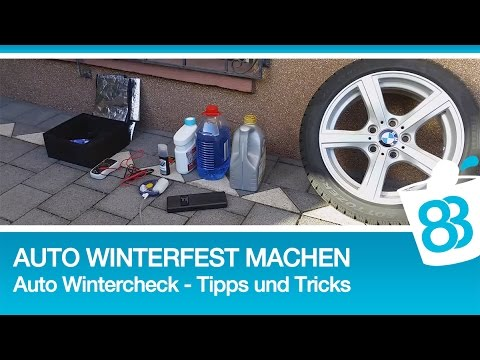 Auto Winterfest Machen - Auto Wintercheck - Tipps Und Tricks