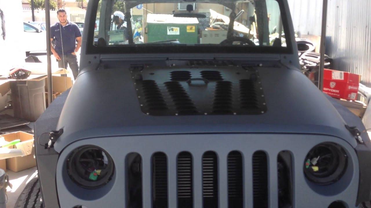 Jeep Punisher Edition Ep 13 Jk Wrangler Poision Spyder
