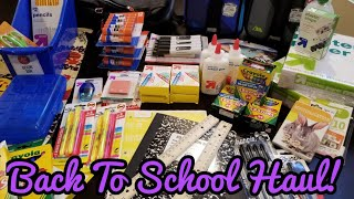 Back to School Haul! Target and Costco
