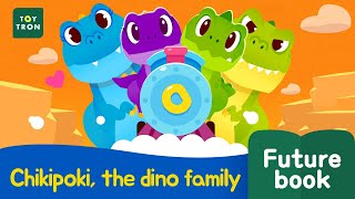 [Dinosaur Song2] Chikipoki, the dino family l Futurebook l Kid songs