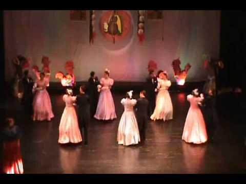Polca de los atillos de la Castaña_danza folklorica de Honduras- ENCA