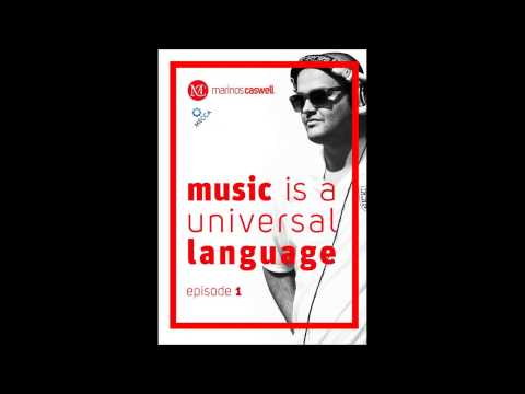 DJ Marinos Caswell - Music is a universal language ( EPISODE 1 ) LIVE ! FROM MECCA CLUB PRAGUE
