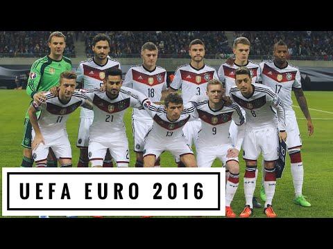 GERMANY | DFB-Elf ► EURO 2016 Team Profile HD