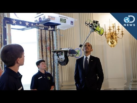 Whiz Kid Inventors Invade The White House