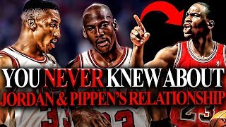 6 Facts That You DID NOT Know About Michael Jordan And Scottie Pippen's RELATIONSHIP?