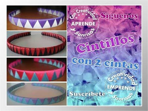 CINTILLO 2 CINTAS CREATIVIDAD & SONRISAS