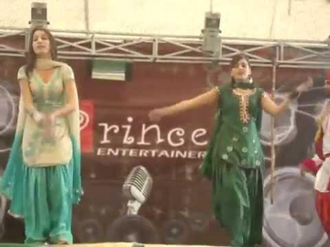 Punjabi girl stage dance
