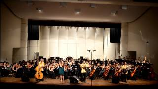 Ho'okena and Malia Gibson sings 'The Prayer' with the RHS Orchestra