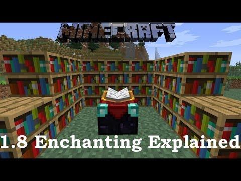 Minecraft 1.8 Enchanting Explained