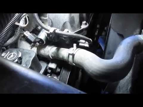 2004 Trail Blazer VVT and Cam position sensor removal and installation Part 3