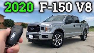 New 2020 Ford F-150 5.0 V8 for $36k | Drive & Review