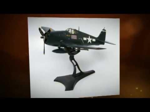 Grumman F6F-5 Hellcat Cdr David Mccampbell (1944) Hobbymaster HA0301 - 1:32