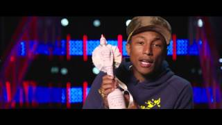 Pharrell Video - Pharrell Williams Wins International Male | BRIT Awards 2015