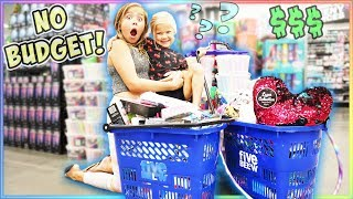 NO BUDGET AT THE 5 BELOW STORE!!! WE BOUGHT ALL THE SLIME KITS!!