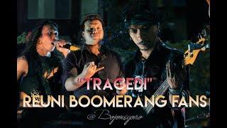 BOOMERANG - TRAGEDI | Henry (Bass) ft. Wahono (Vocal) & Volcano Band LIVE Bojonegoro 2017