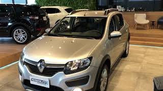 Renault Sandero Stepway 8V 1.6 Easy-r 2016 seminovo - Personalité Automóveis
