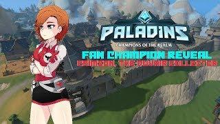Paladins Fan Champion Reveal: Crimson, The DuVair Collector