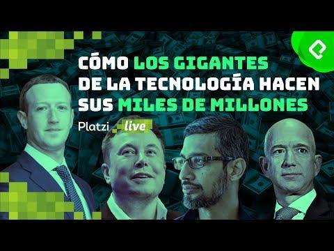 Cómo los gigantes de la tecnología hacen sus miles de millones | PlatziLive