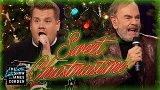 """Sweet Christmastime"" w/ Neil Diamond & James Corden"