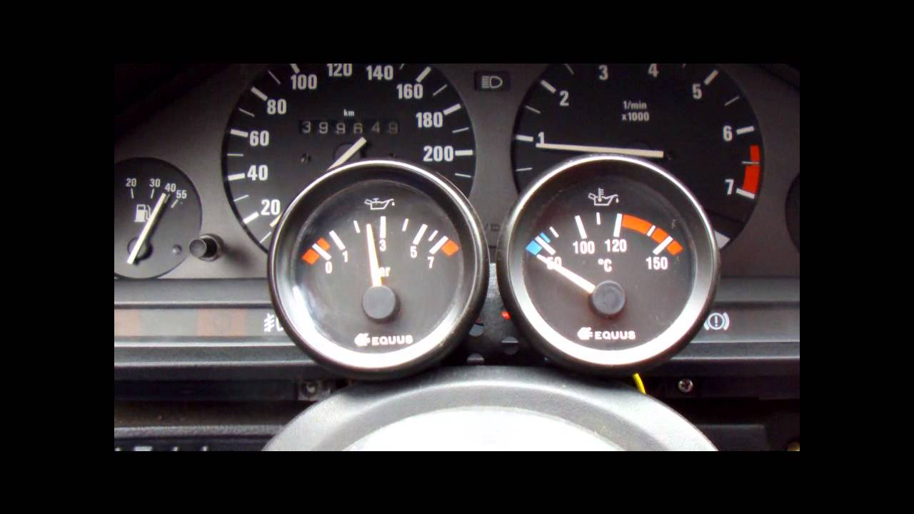 Wskaźniki Equus Ciśnienie I Temperatura Oleju W M50b25