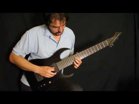 Упражнение на ловкость и проворность пальцев рук на гитаре