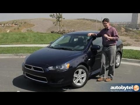 2013 Mitsubishi Lancer SE AWC Test Drive & Compact Car Video Review