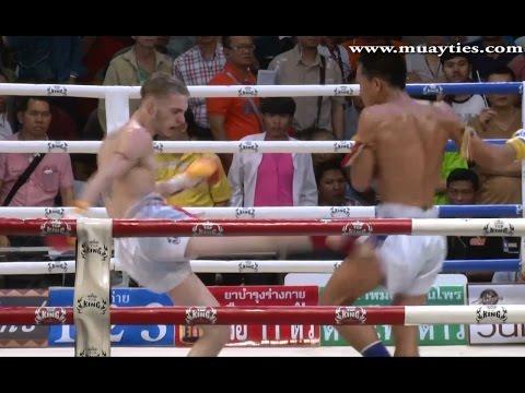 Muay Thai Fight - Daniel vs Kongfark, Rangsit Stadium Bangkok - 25th J...