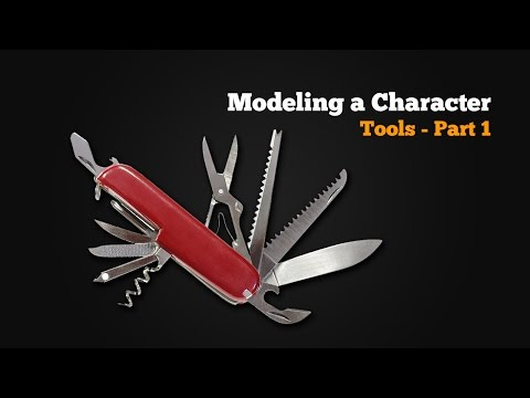 Modeling a Character in Maya - part 1 of 10